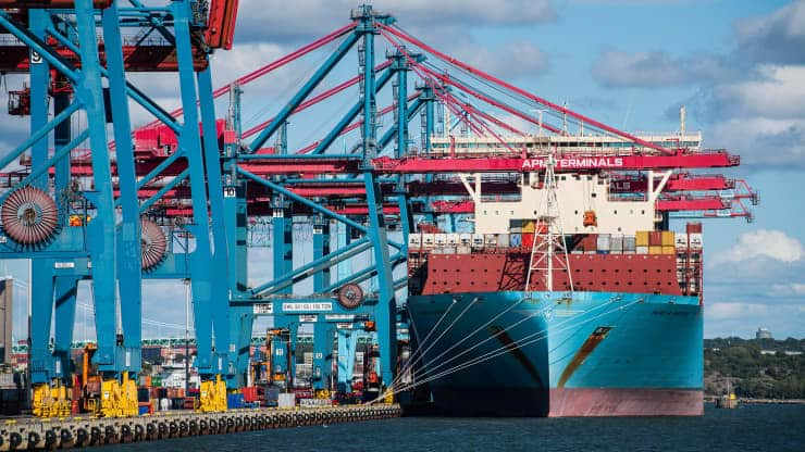 container ship maersk murcia